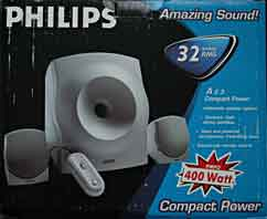 Philips A2.3 Compact Power luidsprekerset