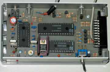 The first model of the Komfa Teletext decoder with the SAA5243, 1989