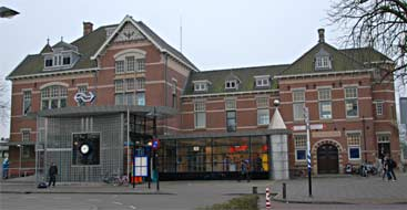 NS station Woerden, 23-1-2010