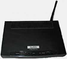 Zyxl 2602HW adsl modem/router/switch