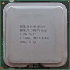 Intel Q9550 Quad2Core 2,83GHz SLB8V