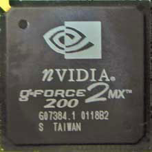 Nvidia Geforce2MX 200
