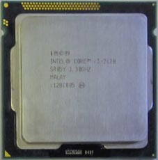 Intel Core i3-2120 SR05Y 3,3GHz