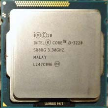 Intel Core i3-3220 SR0RG 3,3GHz