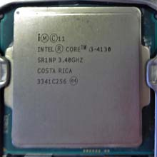 Intel Core i3-4130 SR1NP 3,4GHz