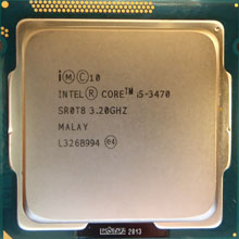 Intel Core i5-3470 SR0T8 3,2GHz