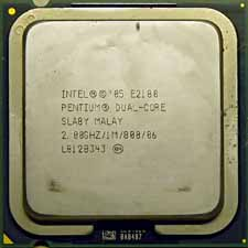 Intel E2180 Dual Core 2,0GHz SLA8Y