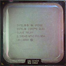 Intel Q9300 Quad2Core 2,5GHz SLAWE