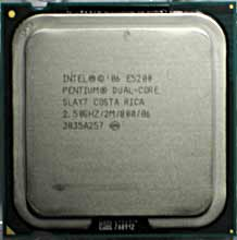 Intel E5200 Dual Core 2,5GHz SLAY7