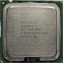 Intel Celeron D346 3,09GHZ/512/533 SL8HD