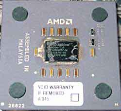 AMD Athlon 1GHz