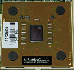 Athlon XP 2600 CPU
