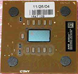 AMD Athlon 3000XP-166 ic